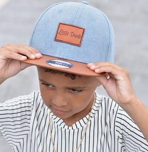 Little Dude Snapback Denim