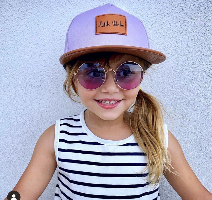 Lilac Little Babe Snapback (faulty item)