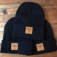 MM Knit Beanie Black