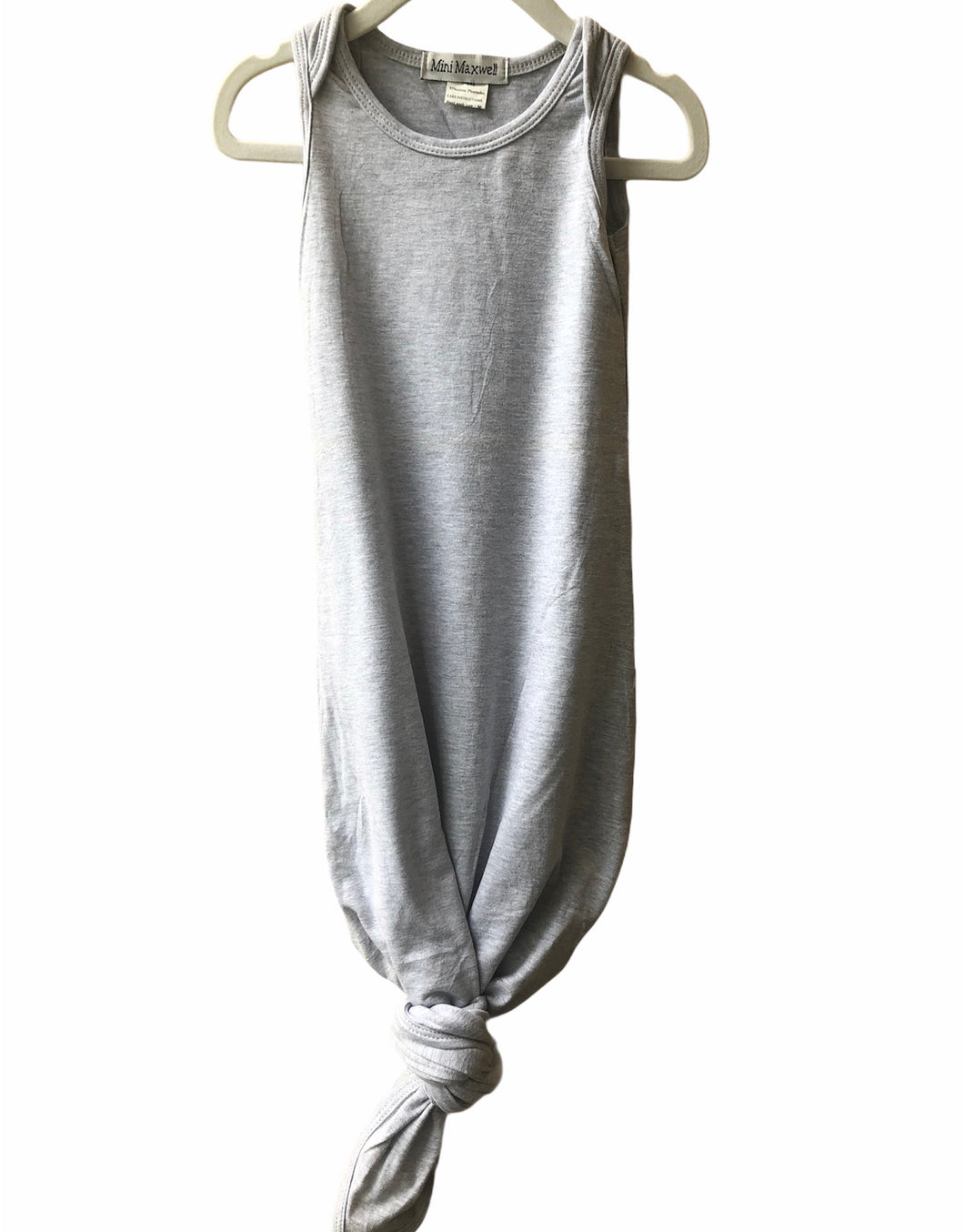 Grey Knit Sleeping Bag