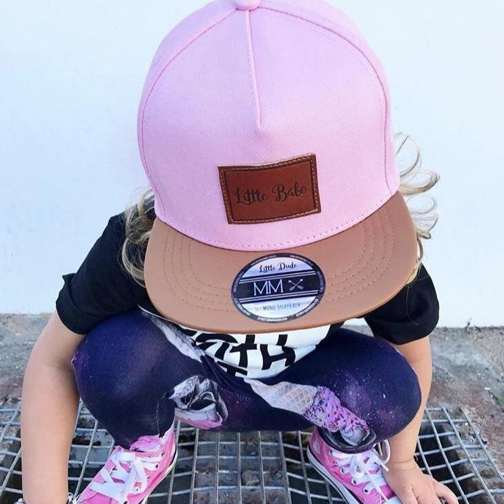 Little Babe Snapback Pink