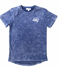 Stone Washed Navy T Shirt