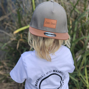 Little Dude Snapback Charcoal