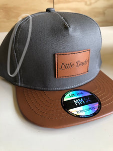Charcoal Snapback (Faulty Item)