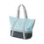 GREY STRIPE CANVAS SAND-FREE TOTE