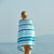 SAND-FREE BEACH TOWEL OCEAN STRIPE