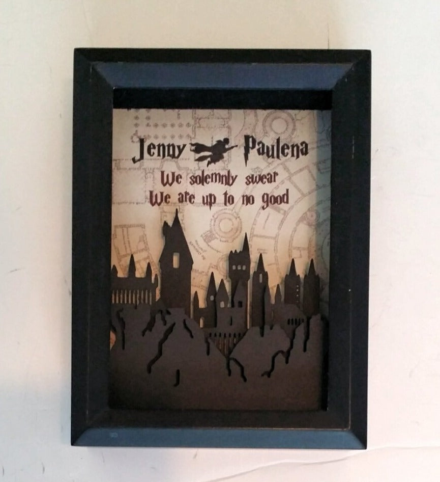 Harry Potter Inspired 3D Shadowbox | 5