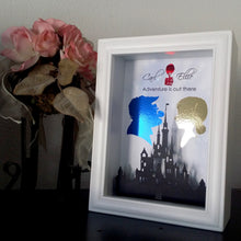 Disney's UP - Carl And Ellie 3D Shadowbox - Disney Castle 5X7