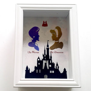 Cinderella's Lady Tremaine Mother's Day 3D Shadowbox - 5X7