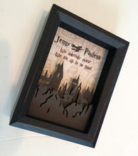 "Harry Potter Inspired 3D Shadowbox | 5""X7"" Hogwart's Castle Cutout 