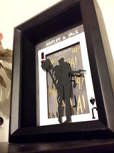 Joker And Harley Quinn 3D Shadowbox - 5X7 Cutout