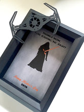 Star Wars Funny Kylo Ren Father's Day, Mother's Day 3D Shadowbox - 5X7 Tie Fighter Cutout