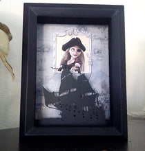 Rapunzel Pirate - Disney Shadowbox Halloween Edition - 5X7