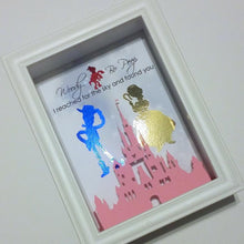 Disney's Toy Story Woody And Bo Peep 3D Shadowbox - Disney Castle 5X7