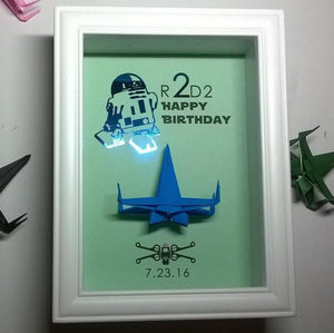 Star Wars R2D2 2nd Birthday Gift 2 Year Old Second Boy