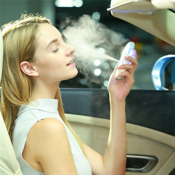 Vehicle-Mount Anion Sprayer Portable Nebulizer Mister Humidifier