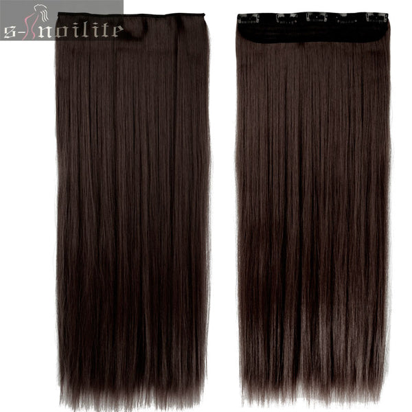 46 76 Cm Longest Clip In For Human Hair Extensions One Piece Real