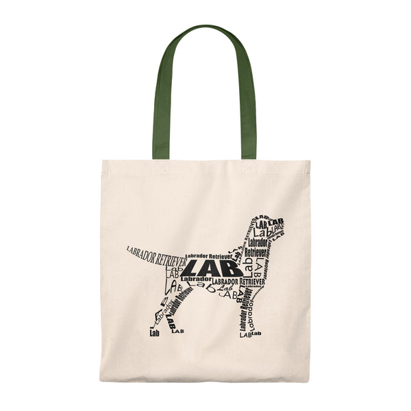 Budget Tote with this design of A Labrador Retriever