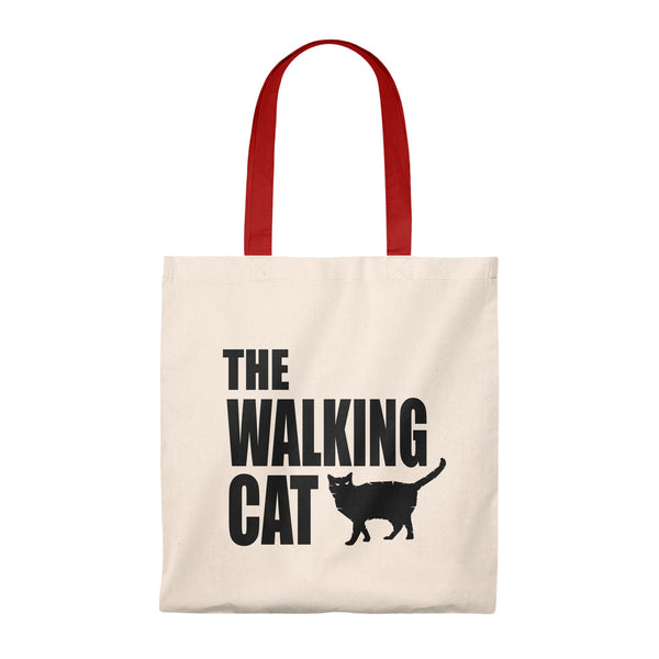 Budget Tote With The Walking Cat Design