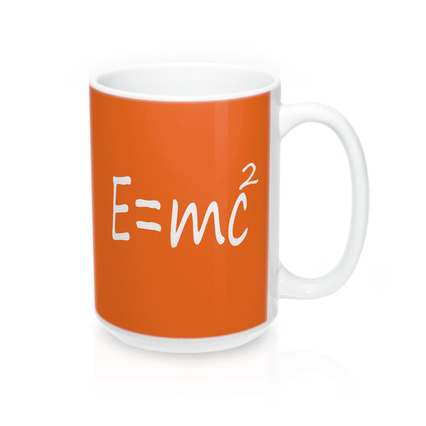 A Unique  Mug 15oz  With E=mc2 Albert Einstein Theory