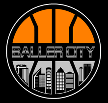 Baller City Logo Tee Black