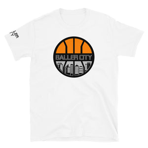 Baller City Logo Tee White