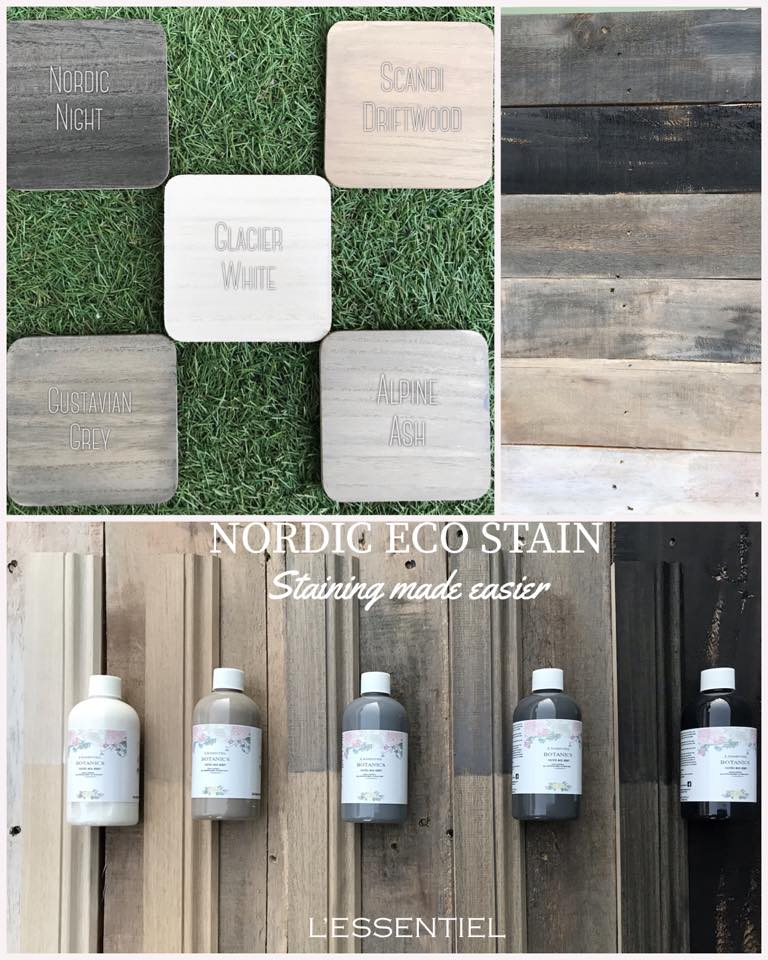 Four steps to the perfect stain finish with Nordic eco stains