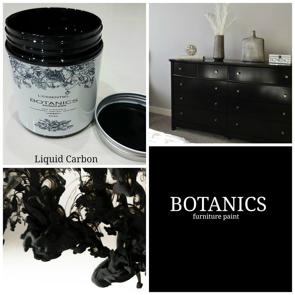 Four ways to use L'essentiel Botanics Liquid Carbon Furniture Paint