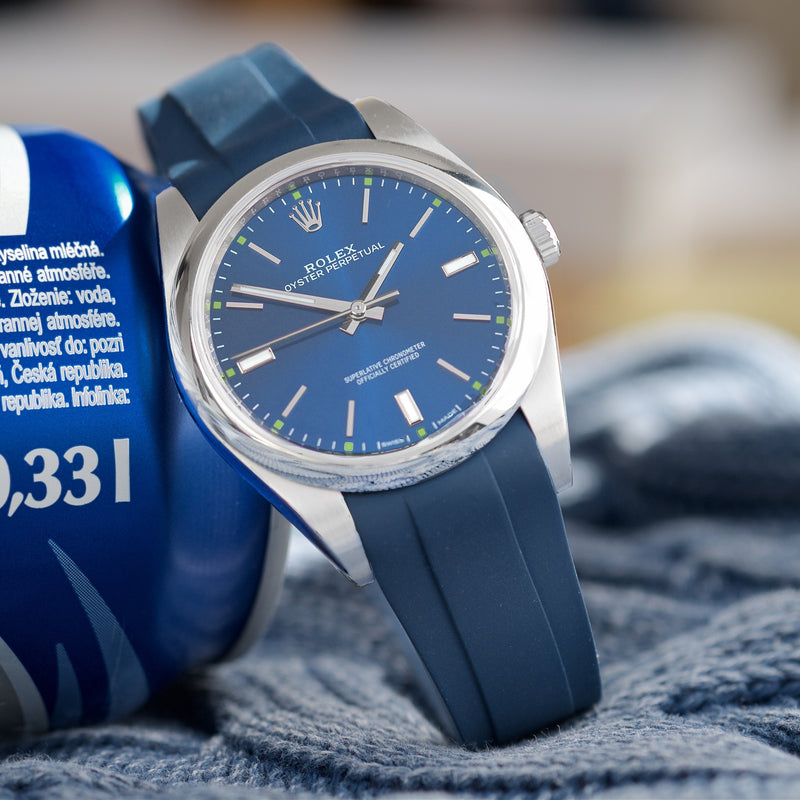 Oyster Perpetual 39mm Blue Strap