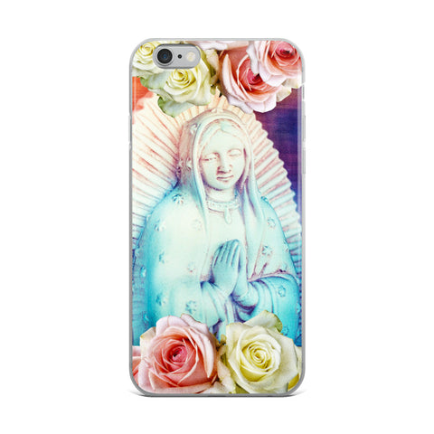 Virgen Rose iPhone Case