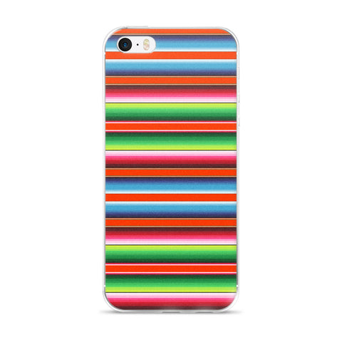 Serape Red iPhone Case