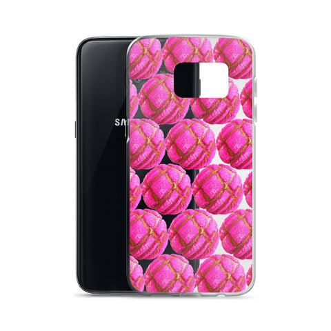 Pink Concha Samsung Case