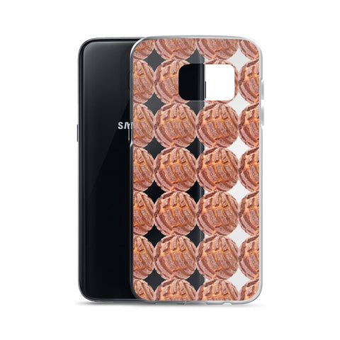 Brown Concha Samsung Case
