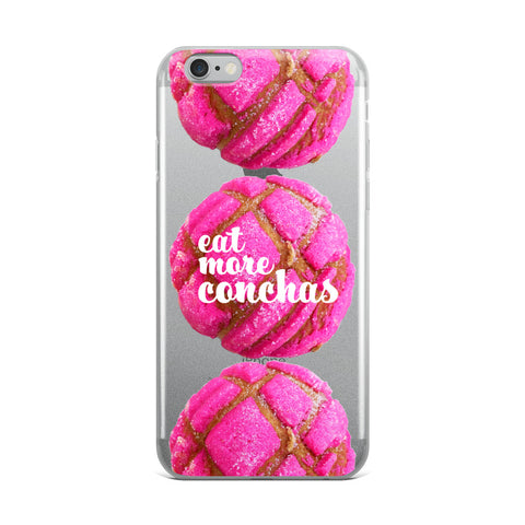 Eat More Conchas iPhone Case
