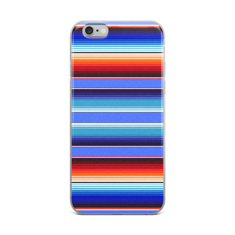 Serape Blue iPhone Case