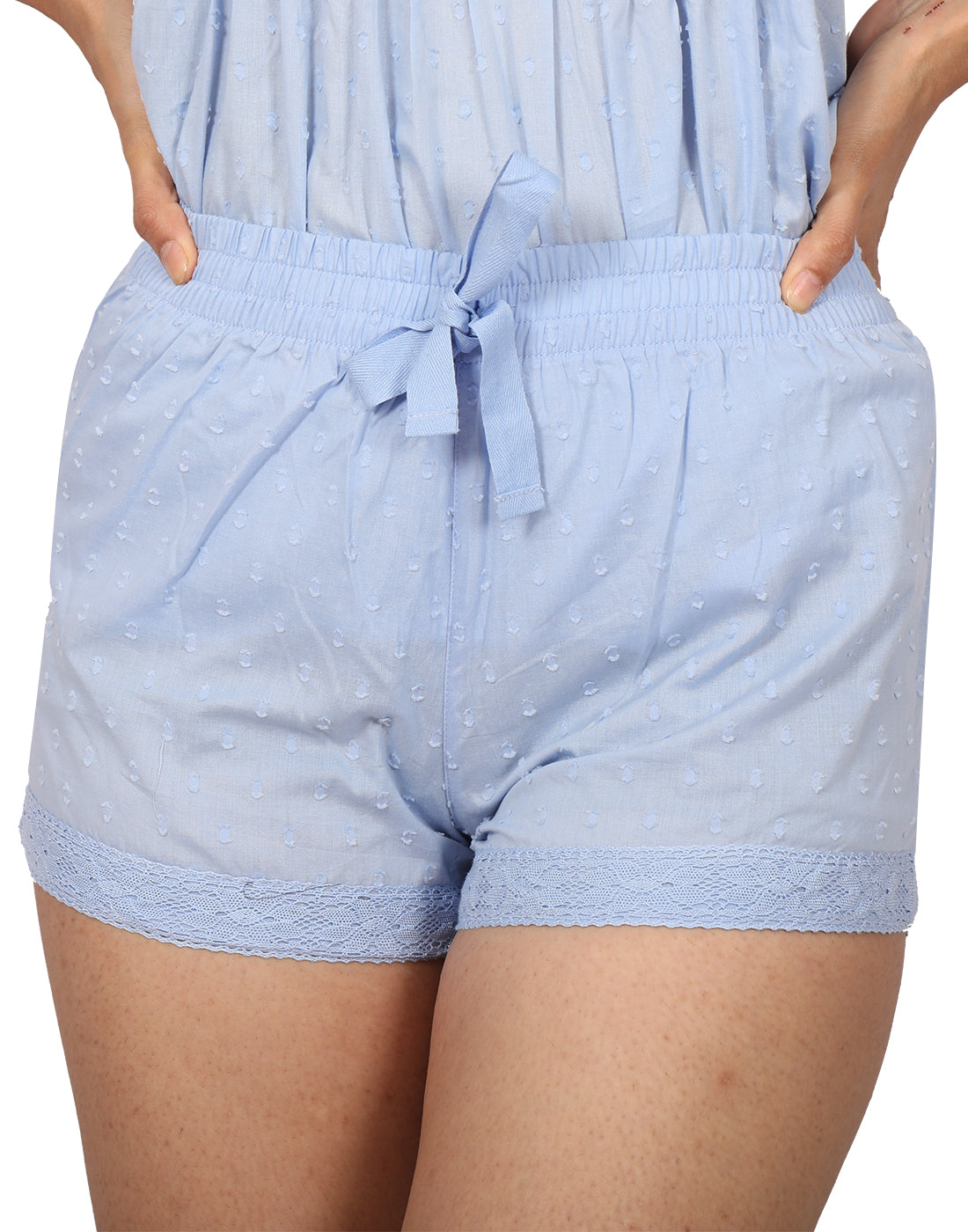 Powder Blue Shorts