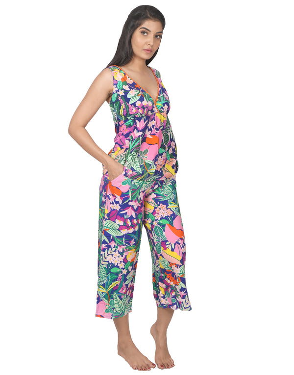 Multicolor Rainforest Cami Set