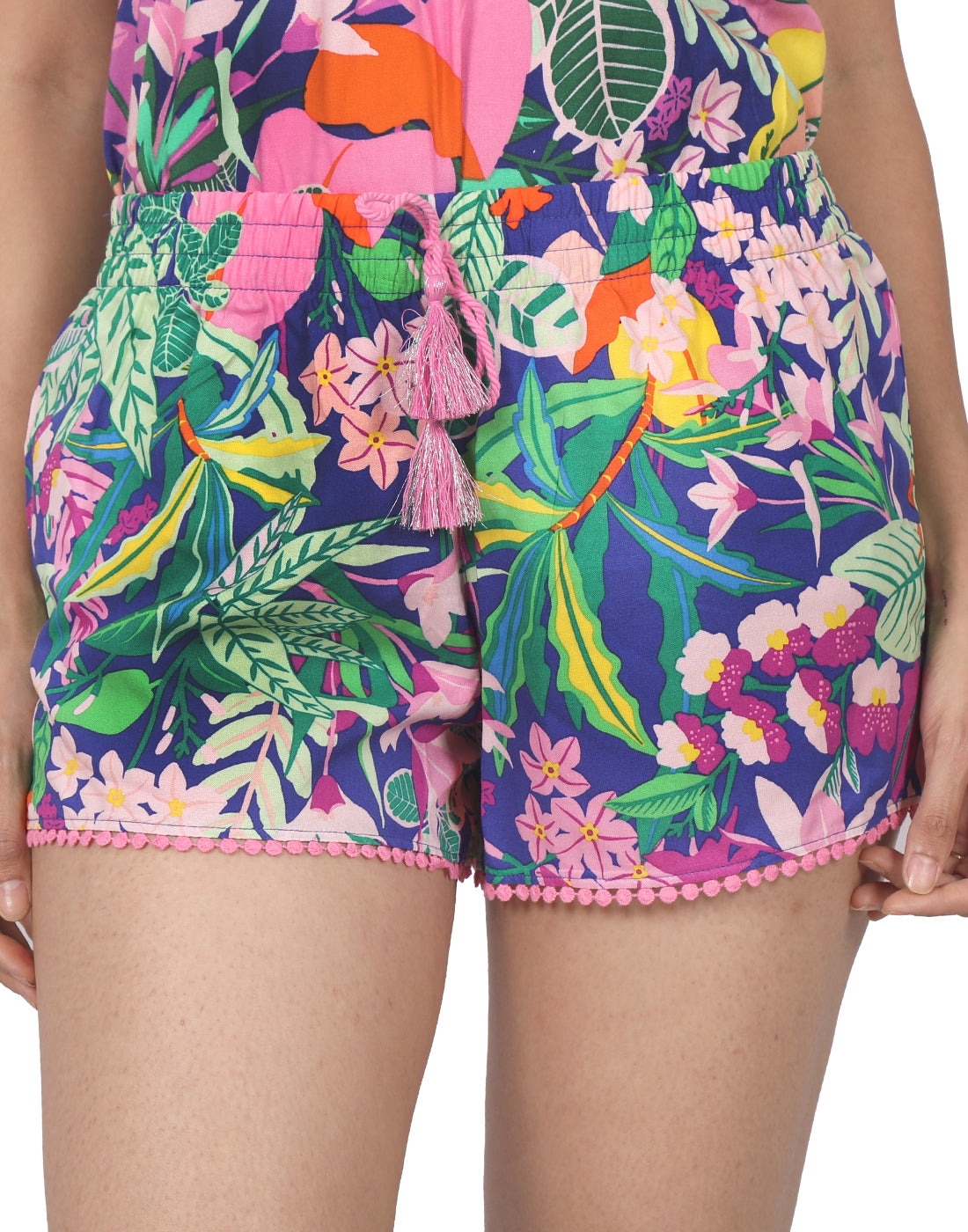 Multicolor Rainforest Shorts