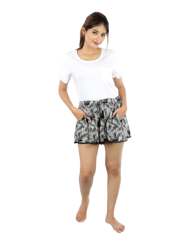 Quirky Printed Shorts