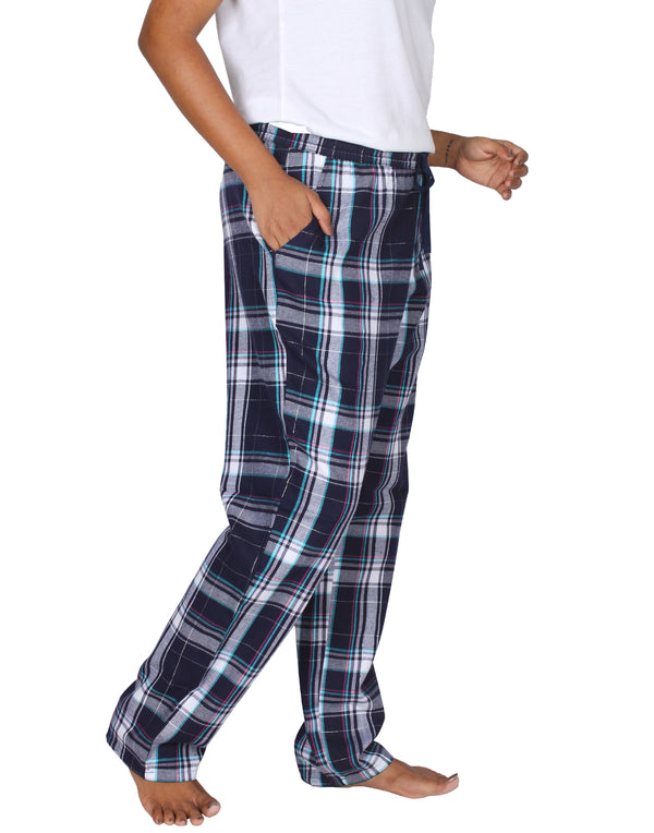 Checks & Leaf Pants Pack of 2