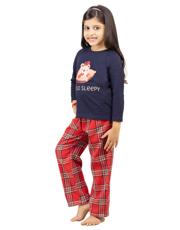 """Sleepy Bear"" PJ set"