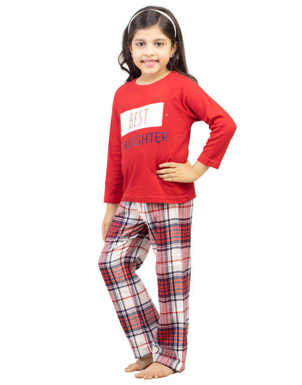 """Best Daughter"" PJ set"