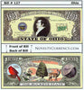 Image of Ohio - The Buckeye State - Commemorative Novelty Bill