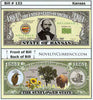 Image of Kansas - The Sunflower State - Commemorative Novelty Bill