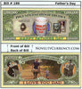 Image of Father's Day Novelty Currency Bill