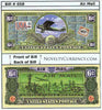 Image of Air Mail Novelty Currency Bill