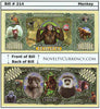 Image of Monkey Primates Novelty Currency Bill