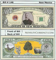 New Mexico - The Land of Enchantment State - Commemorative Bill