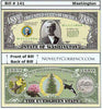 Image of Washington - The Evergreen State - Commemorative Novelty Bill