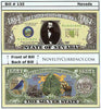 Image of Nevada - The Silver State - Commemorative Novelty Currency Bill